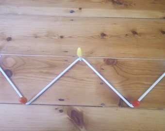 Vintage retro Atomic Sputnik coat rack