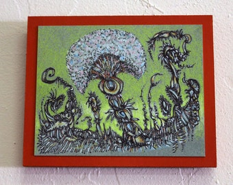 Poof Doodle Dye Sublimation Wall Art