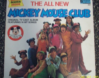 Mickey Mouse Club record