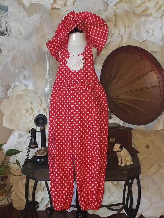 Minnie Mouse, Polka Dot Jumpsuit, Disney Polka Dot, Minnie Red Polka, Halter Jumpsuit, Toddler Halter Romper, Toddler Romper, Sister Dresses