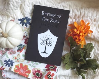 Seconds Sale | Imperfect Return of the King Companion Journal | Tea with Tolkien Book Club Companion