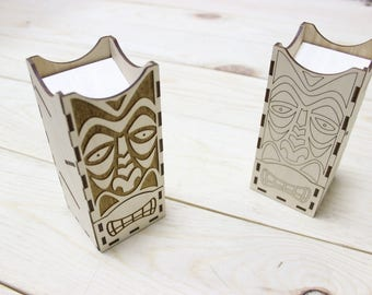 Dice tower for board games, Maori