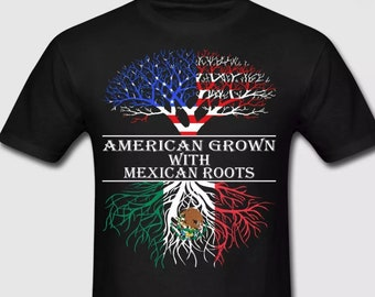 American Grown With Mexican Roots Tee