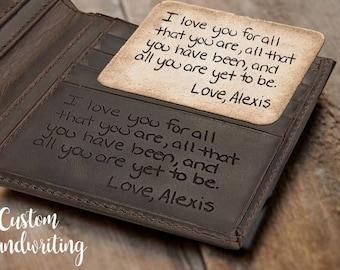 Personalized mens wallet for men gift travel wallet boyfriend gift husband gift for him best friend gift for men personalized leather wallet