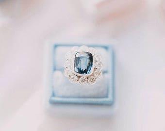 Velvet Ring Box - Luxe Velvet Ring Box - Ring Box - Engagement Gift - Engagement Ring Box - Fine Art Photography - Velvet Box