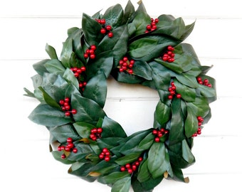 Valentine Wreath-Valentines Day Wreath-Farmhouse Decor-MAGNOLIA Wreath-Farmhouse Wreath-Holiday Wreath-Outdoor Wreath-Scented Wreaths-Gifts