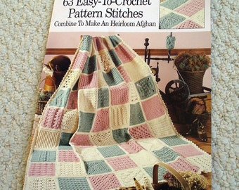 Crochet Stitches - 63 Easy to Crochet Pattern Stitches, Softcover book by Leisure Arts