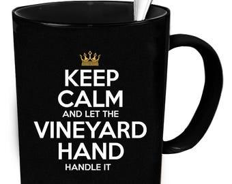 Vineyard Hand coffee mug. Tea or coffee cute and funny gift idea 11 oz ceramic mugs