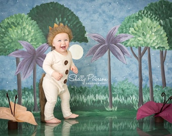 Wild One Romper || Where The Wild Things Outfit || Wild Thing Outfit || One Piece White Romper || Safari Party Costume || Jungle Party