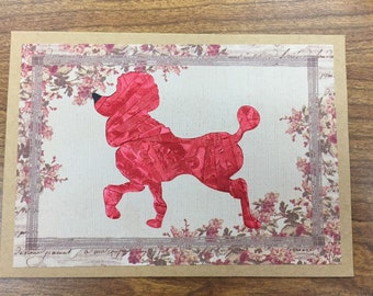 French Poodle All Occasion Card