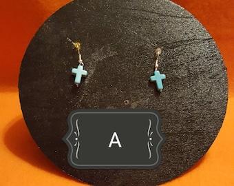 Turquoise cross