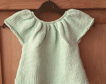 Ibiza sweater for baby girl-size 2 years
