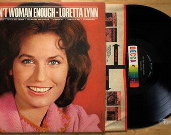 Loretta Lynn - You Ain't Woman Enough (1966) Vinyl LP  MONO