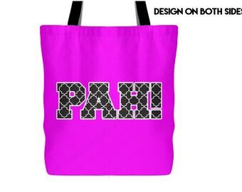 PAH! Tote Bag 4 Colors, Deaf Culture, Sign Language, ASL, Signing Gift, ASL I Love you, Love Sign, Signing Gift, Graduation Gift, Deaf