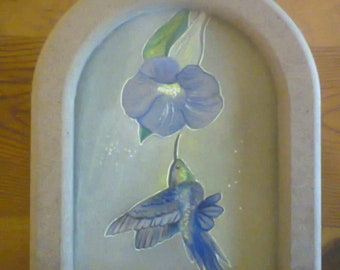 Painting on wood surface
