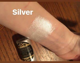 Silver Liquid Highlighter Drops