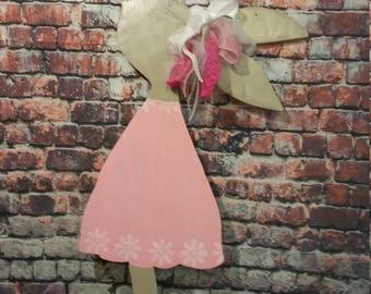 Easter Decoration,Easter Door Hanger, Gift for child, Easter Girl  Rabbit,Easter rabbit
