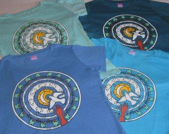 peace*salaam*shalom*mandala t-shirt for women