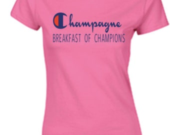 champagne breakfast of champions