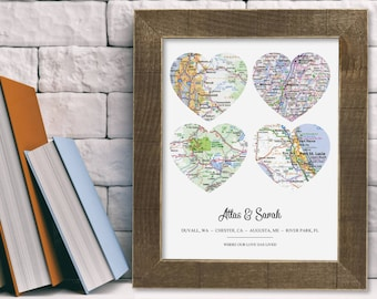 Unique Him Gifts for Him Personalized Birthday Valentine Day Christmas Fathers Day Anniversary Wedding Custom Housewarming Rustic Home Decor