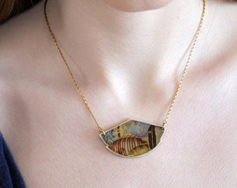 Míni Shell Silhouette Necklace