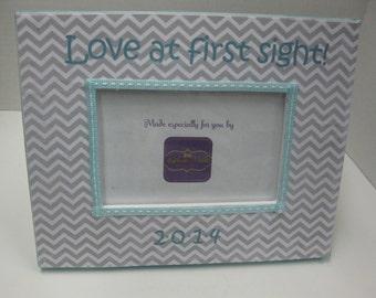 "Ultrasound Frame "" Love at first sight ! """