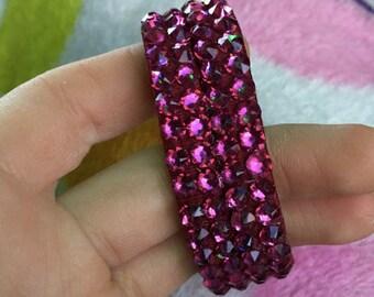 Thick Band Swarovski Bracelet