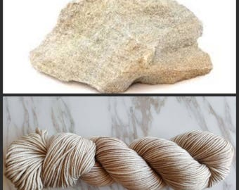 Hand Dyed Yarn, Merino, DK Weight Tonal Yarn, Perfect for Hats, Scarves, Sweaters and all Winter Accessories - Sandstone