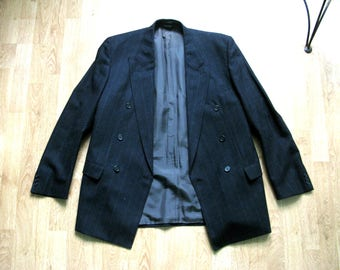 Men's Saint John Wool Jacket Blazer Size 98