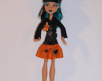 Handmade M.H. dolls  Dress,Bolero, -Handmade M.H. dolls  Clothes