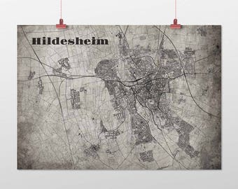 Hildesheim - A4 / A3 - print - OldSchool