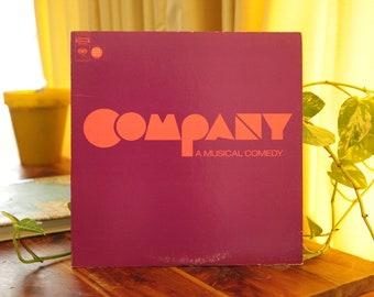 Company A Musical Comedy Record, Vintage LP Album, Original Broadway Cast Recording Soundtrack Gift