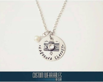 Exposure Therapy Photography Necklace!