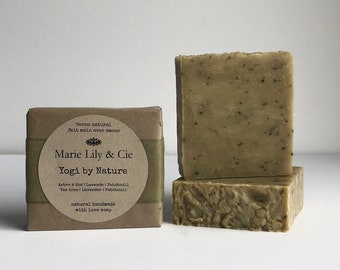 Yogi by Nature, natural soap, shampoo bar, vegan soap, handmade soap