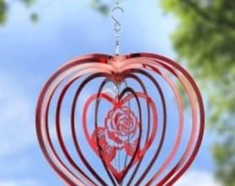 Heart Rose Spinner