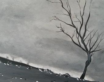 Sway - Acrylic Painting - ready to ship!
