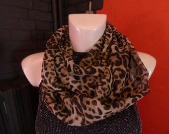 scarf/infinity snood neck scarf light weight double rounds