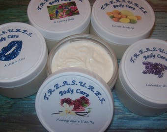 Shea Butter Body Cream, Whipped Shea Butter, Natural Moisturizer, Organic Body Butter, Whipped Body Butter, Shea Butter Lotion