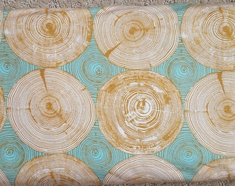 Sale!! Tree Ring Bling Fabric by Joel Dewberry Modernist Collection Fabric by the Yard