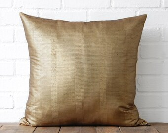 Gold Shiny Pillow