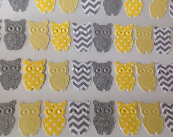 50 pc Paper Owl Stickers