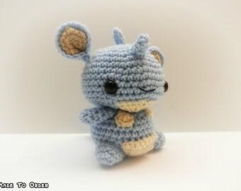 Crochet Nidoqueen Inspired Chibi Pokemon