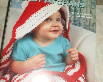 24 Hours Baby Afghans Book - Crochet  -  Leisure Arts  -