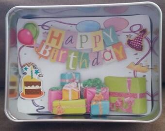 Birthday Mini Shadow Box