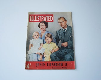 RESERVED FOR ANNE Royal magazine - The Queen - Vintage magazine