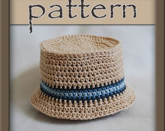 PATTERN Crochet Bucket Hat PDF No 104 - Instant Download