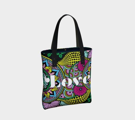 Love Mandala Premium Tote Bag