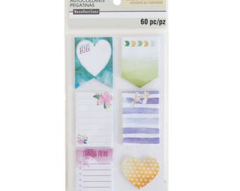 Watercolor Medium Sticky Notes By Recollections™