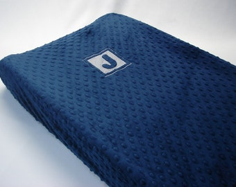 Changing Pad Cover with Embroidery Letter Initial
