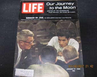 Life Magazine January 17, 1969 - Our Journey to the Moon